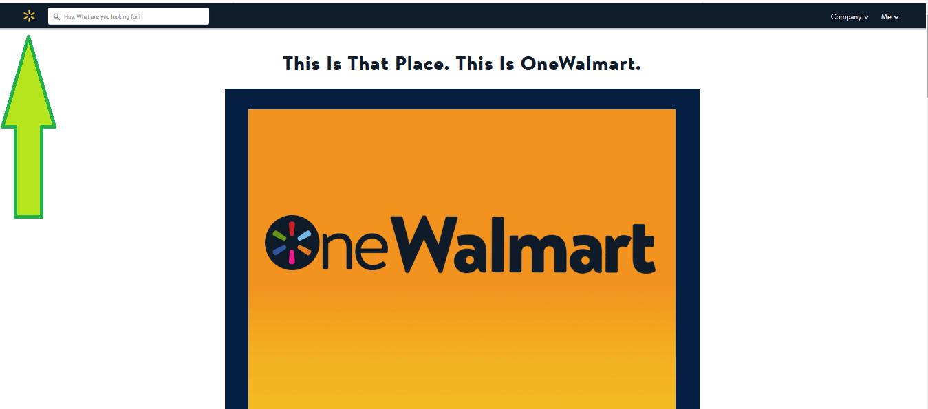 onewalmart login